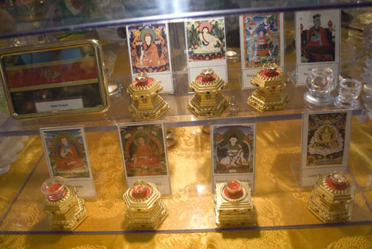 Maitreya Heart Shrine Relics Project, Land of Medicine Buddha, Soquel, CA