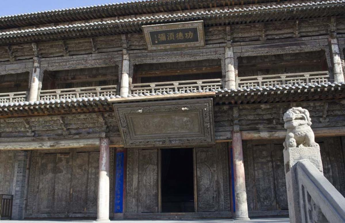 Zhangye Buddhist Temple: The Birth of Kublai Khan